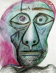 Autorretrato de Picasso de 1972