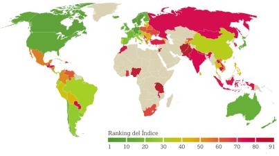 Mapa Indice Global Envejecimiento