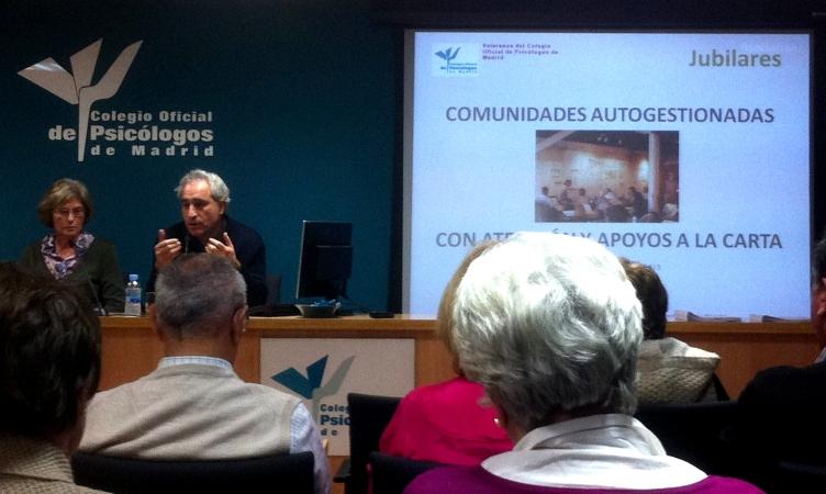 Charla coloquio. Colegio Oficial de Psicólogos de Madrid