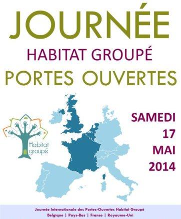 Cartel en francés del día internacional de la vida en comunidad