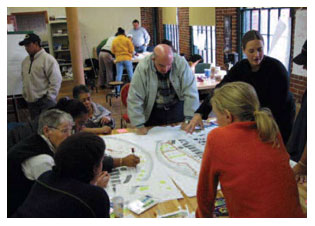 Community design charrette - Lawrence, MA Groundwork Lawrence