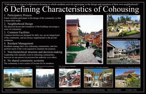 6 caracaterísticas que definen el cohousing
